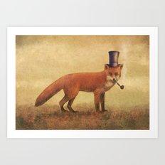 Crazy Like a Fox  Art Print