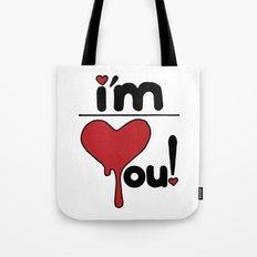 i'm over you! Tote Bag