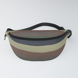 lumpy or bumpy lines abstract - QAB279 Fanny Pack