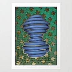 Public Encryption Art Print