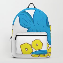Do Fish Smoke Seaweed Funny Fishing Aquarium Gift design Backpack