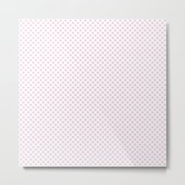 Ballet Slipper Polka Dots Metal Print