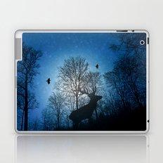Deer in the snow Laptop & iPad Skin