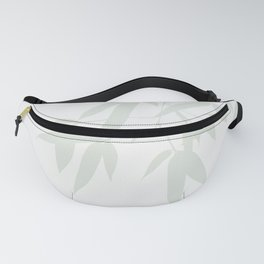 Leaves #Bamboo #Grey Fanny Pack
