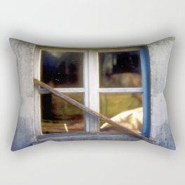 WINDOW IN TICINO Rectangular Pillow