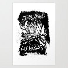 Fear & Loathing inks Art Print