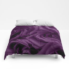 Bed of Roses - Purple Comforters