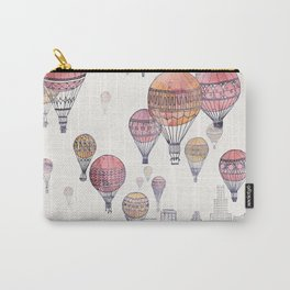 Voyages Over Santa Monica Carry-All Pouch