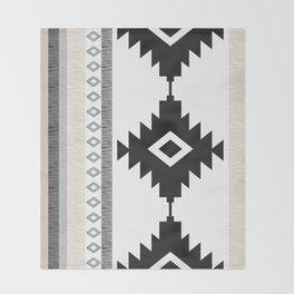Pueblo in Tan Throw Blanket