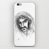 zappa iPhone & iPod Skins featuring Zappa by Mark T. Zeilman