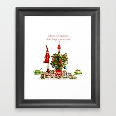 Christmas wishes Framed Art Print