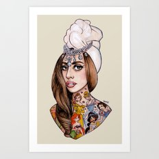 Princess High Art Print