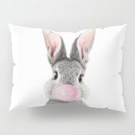 Bunny With Bubble Gum Pillow Sham