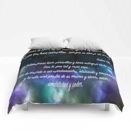 Estrellas en galaxia - Salmo 136, 2-3 Comforters