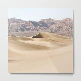 Sand Dunes Of Death Valley National Park Photo | California Landscape Art Print | USA Travel Photography Metal Print