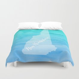 Sweet Home New Hampshire Duvet Cover