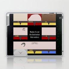Maybe it's not the Destination that matters - square - Star Trek: Voyager VOY  trektangle minimalist Laptop & iPad Skin