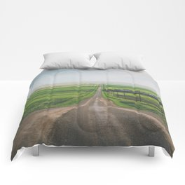 All Roads Lead Home Comforters