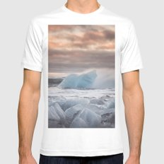 The Ice Cold Heaven MEDIUM White Mens Fitted Tee