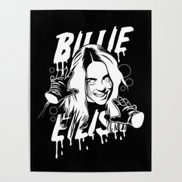 Bury a Friend Billie Eilish Poster