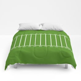Football Field design Comforters