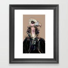 The Vulture Framed Art Print