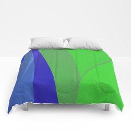 Organic Abstract No. 4 Comforters