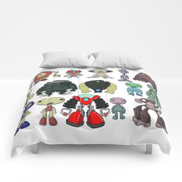 Cute Character Designs Comforters