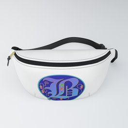 Initial Letter B Fanny Pack