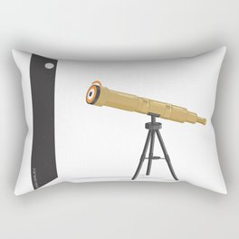 a glance to the stars Rectangular Pillow