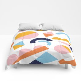 Happy Shapes Comforters