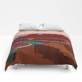 Magnificent Canyonlands National Park, Utah Comforters
