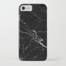 Black Marble Slim Case iPhone 7