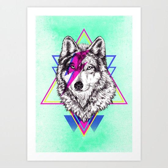 Animal Disco Funkland Art Print