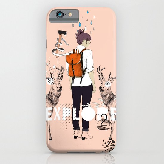 The Wilderness iPhone & iPod Case