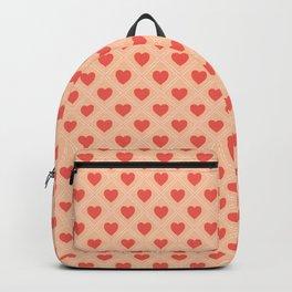 Cute Seamless Hearts Pattern 034#001 Backpack