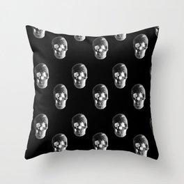 Skulls Pattern Throw Pillow