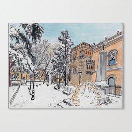 Spanish Palace Canvas Print