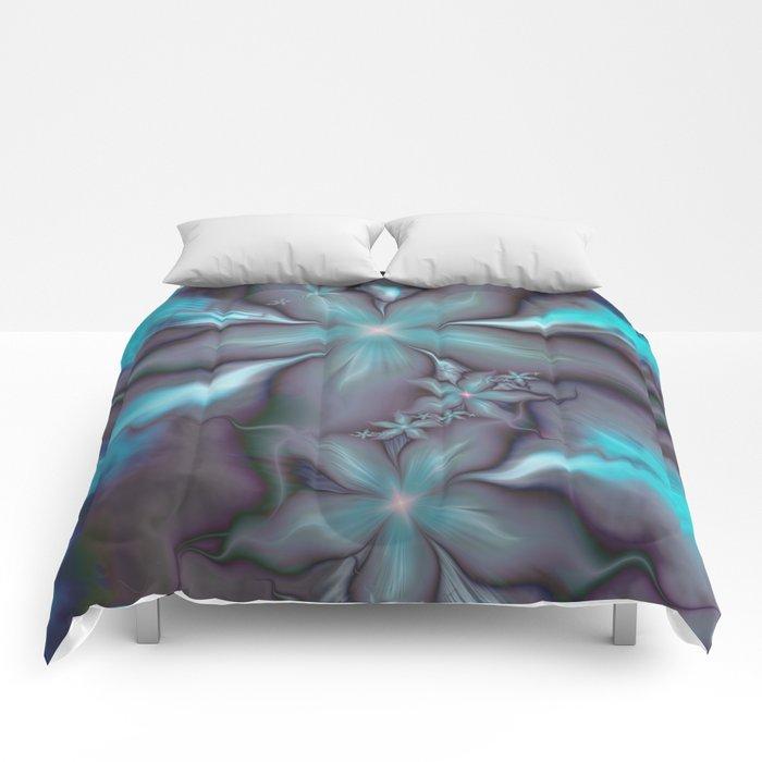 Aquafleur Fractal Comforters