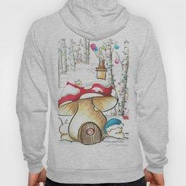 Mushroom in the Snow Hoody