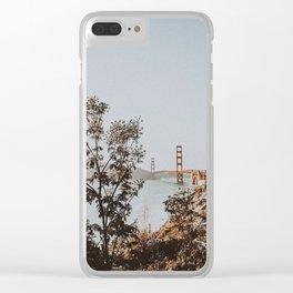 san francisco, california Clear iPhone Case
