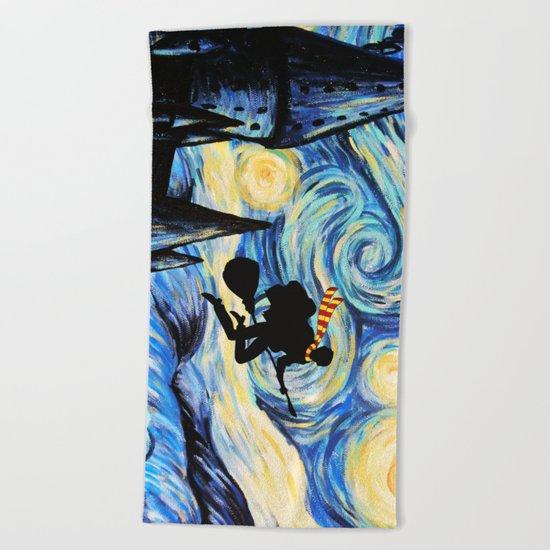 Potter Starry Night Beach Towel
