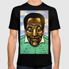 Bill Cosby Mens Fitted Tee Black X-LARGE