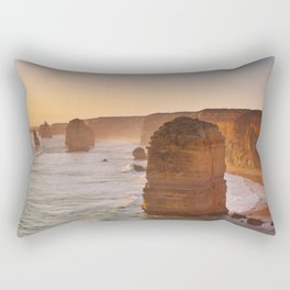 VII - Twelve Apostles on the Great Ocean Road, Australia at sunset Rectangular Pillow