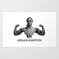 Amalgamation #1 Art Print
