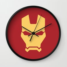 Iron man superhero Wall Clock