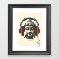 Enjoy Music Framed Art Print