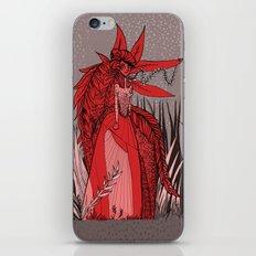 Woman Wolf 2 iPhone & iPod Skin