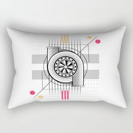 Turbo engine Rectangular Pillow