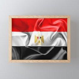 Egypt Flag Framed Mini Art Print